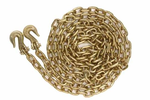 2 Grade 70 5/16''x25' Binder Chains Clevis Hook Each End