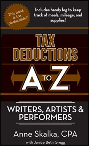 tax deductions a to z for writers artists and performers tax