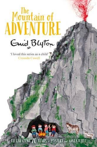 Book cover for The Mountain of Adventure