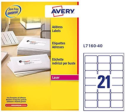 Avery Labels L7160 Template Image Collections Template Design Free