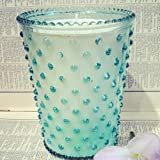 Simpatico #91 Marine 16 oz Hobnail Glass Candle