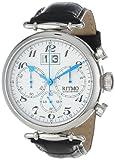Image of Ritmo Mundo Unisex 701/1 SS Corinthian Classic Quartz Chronograph Three Oversized Subdials Watch