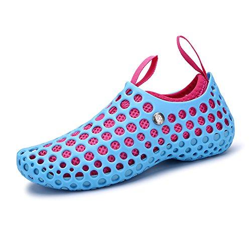 Xing Lin Flip Flop De La Playa Verano Hombre De Zapatillas Para Hombres Marea Cool Zapatos Zapatos Zapatos Sandalias De Playa Agujero Otoño Sandalias Zapatos Amantes 666 sky blue - female