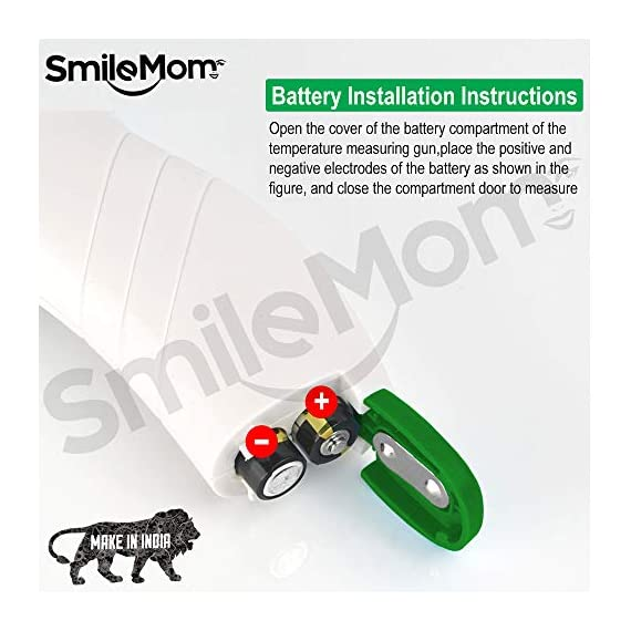 Smile Mom Digital Infrared Forehead Thermometer Gun for Fever, Body Temperature (Non Contact). Best for Kids, Adults. CE, ROHS, CNAS Certified 4