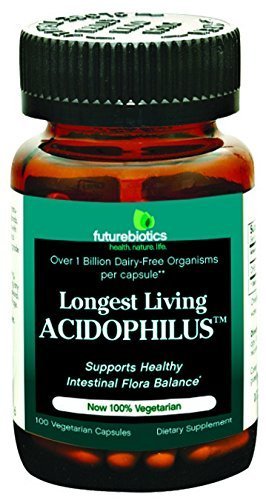 Futurebiotics Longest Living Acidophils 100 Cap by Futurebiotics