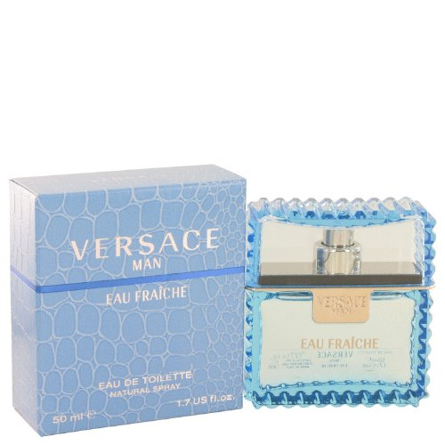 Versace Man by Versace - Eau Fraiche Eau De Toilette Spray (Blue) 1.7 oz by Versace