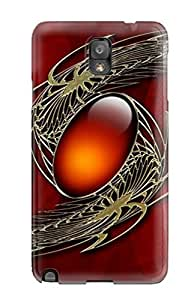 Premium Durable Artistic Fashion Tpu Galaxy Note 3 Protective Case Cover