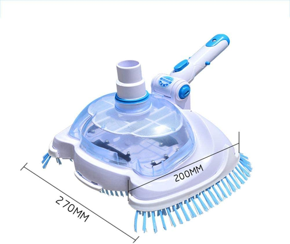 Pool and Spa Vacuum Head Transparent Manual Suction Machine Cleaning and Maintenance Tools