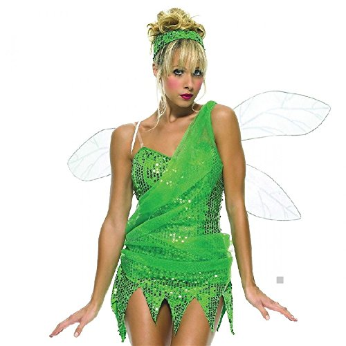 Iridescent Pixie Wings Adult Teen Junior Women Fairy Halloween Costume (Iridescent Fairy Wings)