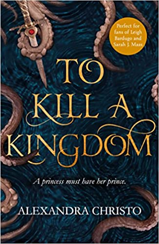 To kill a kingdom copertina