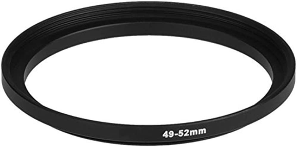 Lens Adapter for Camera Filter Adapter Ring Market/&YCY 46-55mm Camera Black Aluminum Adapter Ring