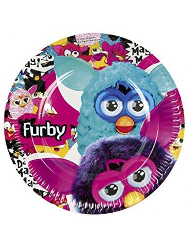 Amscan 23cm Furby 8-Paper Plates