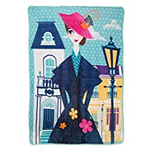"Disney Mary Poppins Returns, Chim Chiminy Micro Raschel, 46"" x 60"" Throw Blanket, Multi-Color"