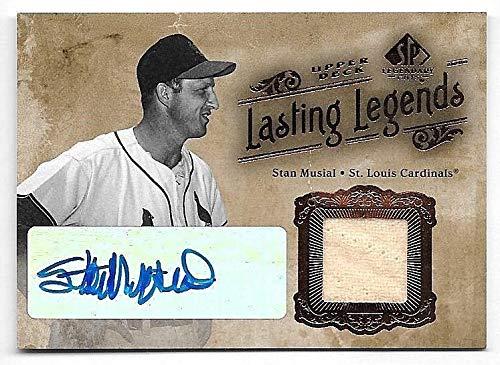 2005 SP Legendary Cuts Lasting Legends #SM Stan Musial Jersey Autograph SP/25