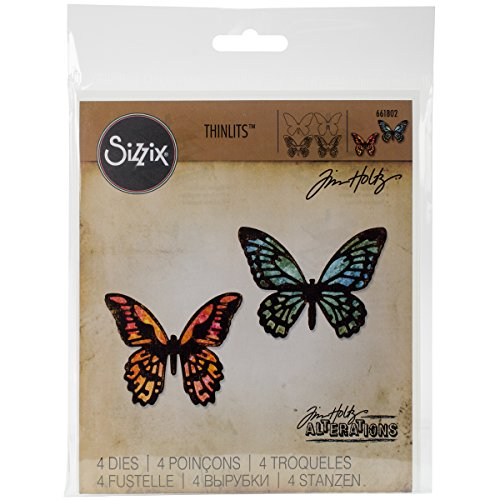 Sizzix THoltz Detail Butterflies TH Thinlits Die -