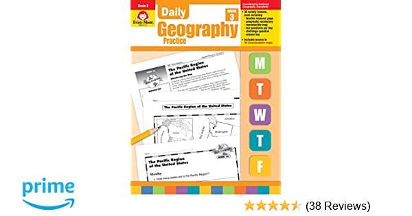 Daily Geography Practice Grade 3 9781557999726