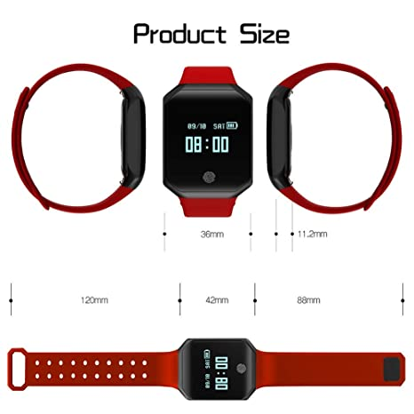Amazon.com: HelloPet Smart Watch Heart Rate Blood Pressure ...