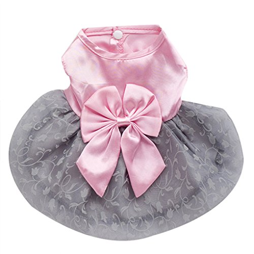 Pet Shirt,Haoricu Fshion Fall Puppy Bowknot Princess Tutu Dress For Small Dogs Cat Costume (S, (Costumes For Cheap)