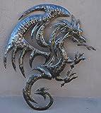 "Dragon Artwork from Recycle Metal, Haiti, 20.5"" X 15"""