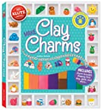 Make Clay Charms features simple step-by-steps for more than 35 designs-cute fruit, adorable animals, sweet treats, and tons more. Make them, bake them, add shine (with our specially formulated glaze), and then attach your creations to the in...