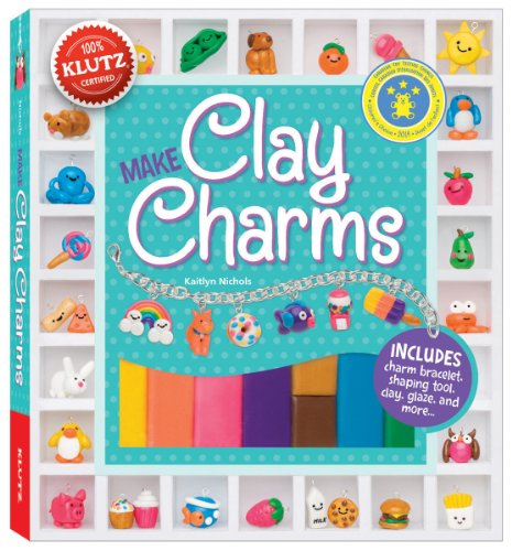 Klutz-Make-Clay-Charms-Craft-Kit