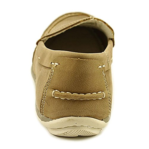 Chaps Mens Barnes Leather Closed Toe Moccasins Taupe wy5F0iAt