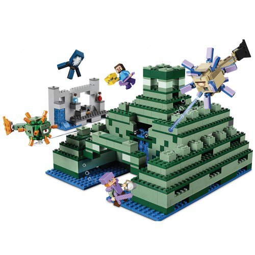 LEGO Minecraft the Ocean Monument 21136 Building Kit (1122 Piece) by LEGO (Image #1)