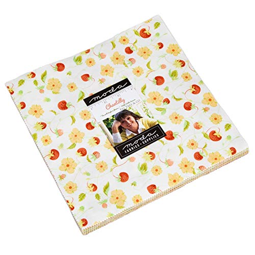 Chantilly Layer Cake, 42-10'' Precut Fabric Quilt Squares by Joanna Figueroa of Fig Tree Quilts by MODA