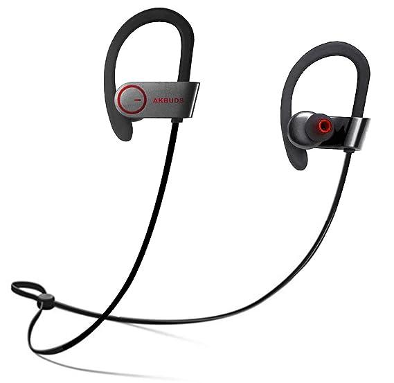 Wireless Sport Bluetooth Headphones - Akbuds Hd Stereo Beats Sound Quality  Headset - Sweatproof Stable Fit 9d5082db3ea8