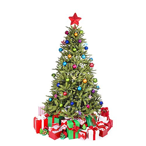 SC58 Small Christmas Tree Cardboard Cutout Standup