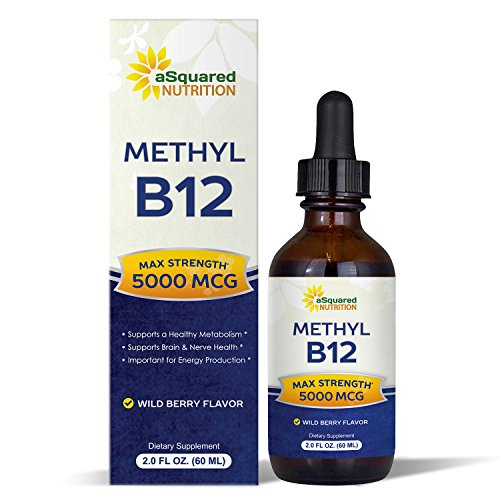 Vitamin Sublingual Liquid Drops Methylcobalamin product image