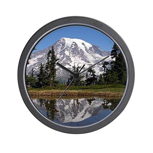 Washington Nationals Round Clock - CafePress Mount Rainier Unique Decorative 10