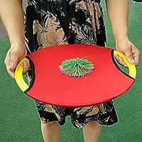 Toyvian Flying Disc Paddle y Ball Set Bounce Juego de Lancer y ...