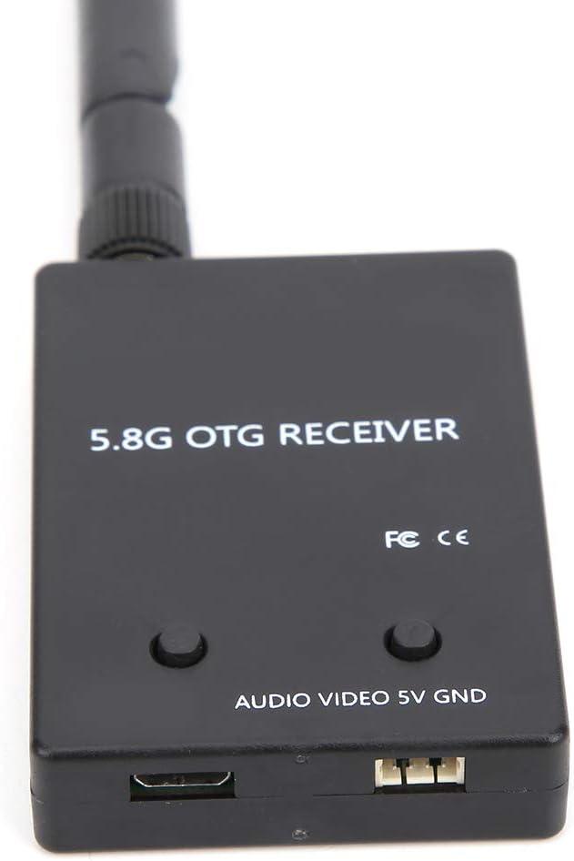 Ricevitore FPV audio 5.8G OTG Scheda di acquisizione video Trasmissione dellimmagine del telefono Display del computer Ricevitore UVC