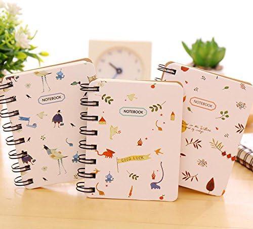 Drawihi Notizbuch Tagebuch Buch Handbuch Hellbraun Zufälliger Stil 10.5 * 7.5cm 1 Stück