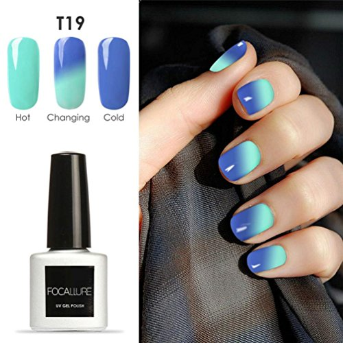 7mL Temperature Change Gel Nail Polish, Nail Art Gel Polish UV LED Gel (Dog Stamp Zodiac)