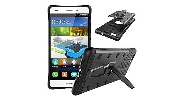 Amazon.com: Huawei P8 Lite Case , OIOLP Dual Layer Shell ...