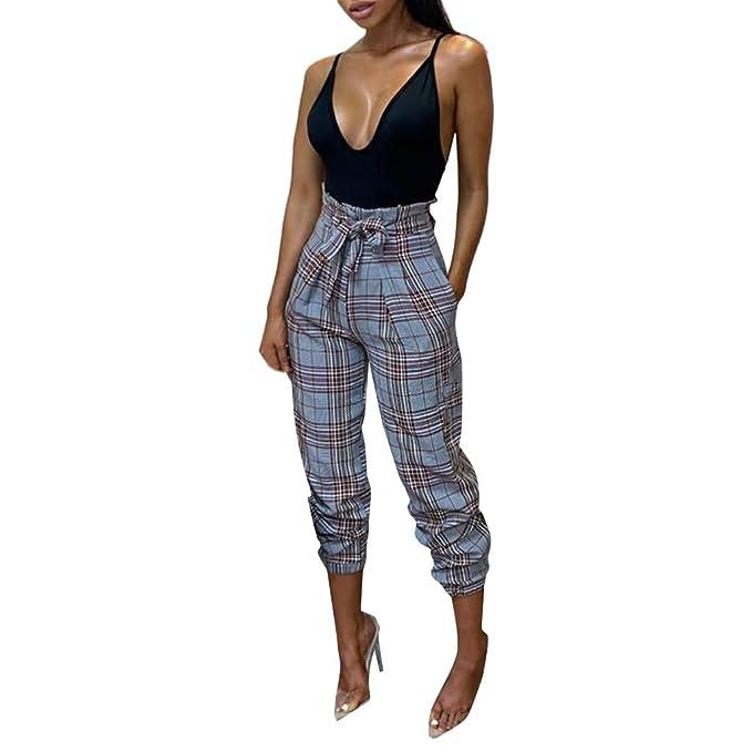 Pantalones de harén para Mujer Primavera Casual Suelto ...