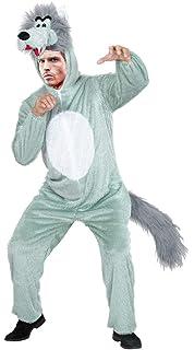 Guirca- Disfraz adulto lobo, Talla 52-54 (80792.0): Amazon.es ...