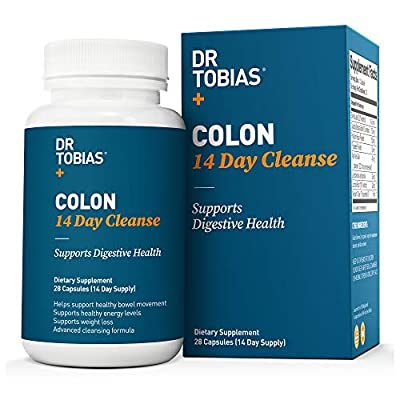 Dr. Tobias Colon 14 Day Quick Cleanse to Support Detox & Increased Energy Levels