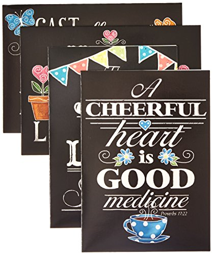 Divinity Boutique Greeting Card Assortment: Get Well, Chalkboard (22684N)