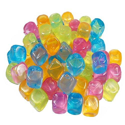esto24- Party Eiswürfel aus Kunststoff Wasserfüllung wiederverwendbar (40)