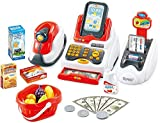 Babytintin Realistic Educational Cash Register Toy Supermarket Set For Kids( color may vary )