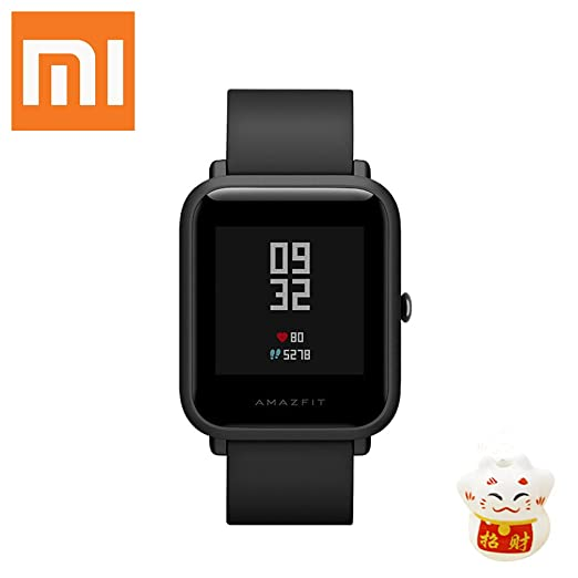 XIAOMI Amazfit Bip Smartwatch Reloj Inteligente Bluetooth con Monitor de Ritmo cardíaco GPS en Tiempo Real Impermeable Ejercicio Fitness Tracker ...