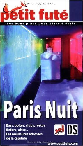 Petit Futé Paris nuit epub, pdf