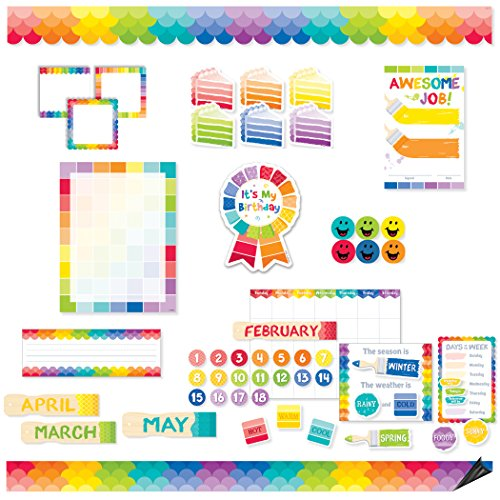 Creative Teaching Press CTP8882 Painted Palette Classroom Collection (Pack of (Color Focus Palette)