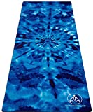ToulaFit Yoga Mats/Pilates Mats/Exercise Mats - Beautiful, Eco-Friendly, Non-Slip, Durable, FREE Carrying Strap Included.