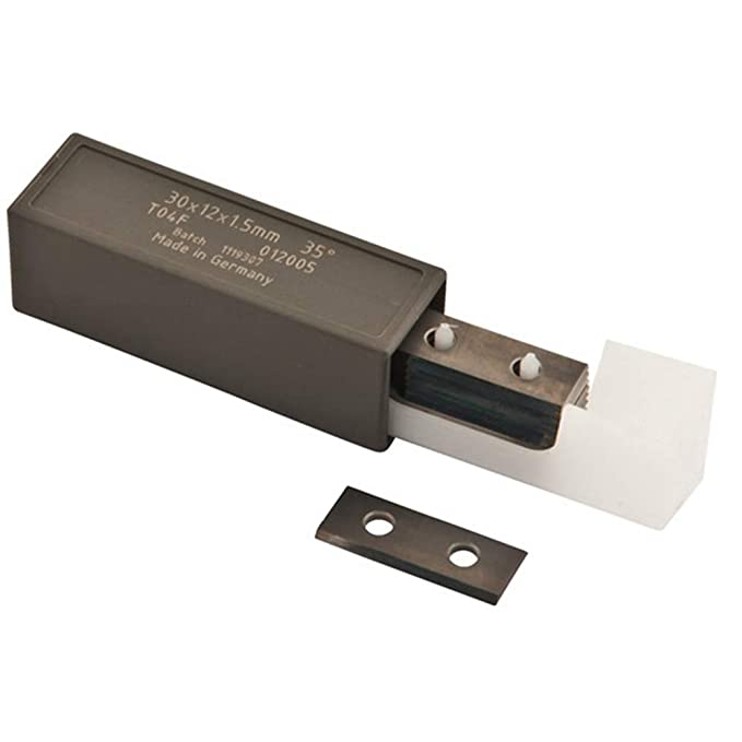 12mm L/ängeX12mm BreiteX1.5mm Wendeschneidplatten f/ür Holzbearbeitung RTing 12mm Vierkant-Vollhartmetall-Schneidmesser Packung mit 10 St/ück