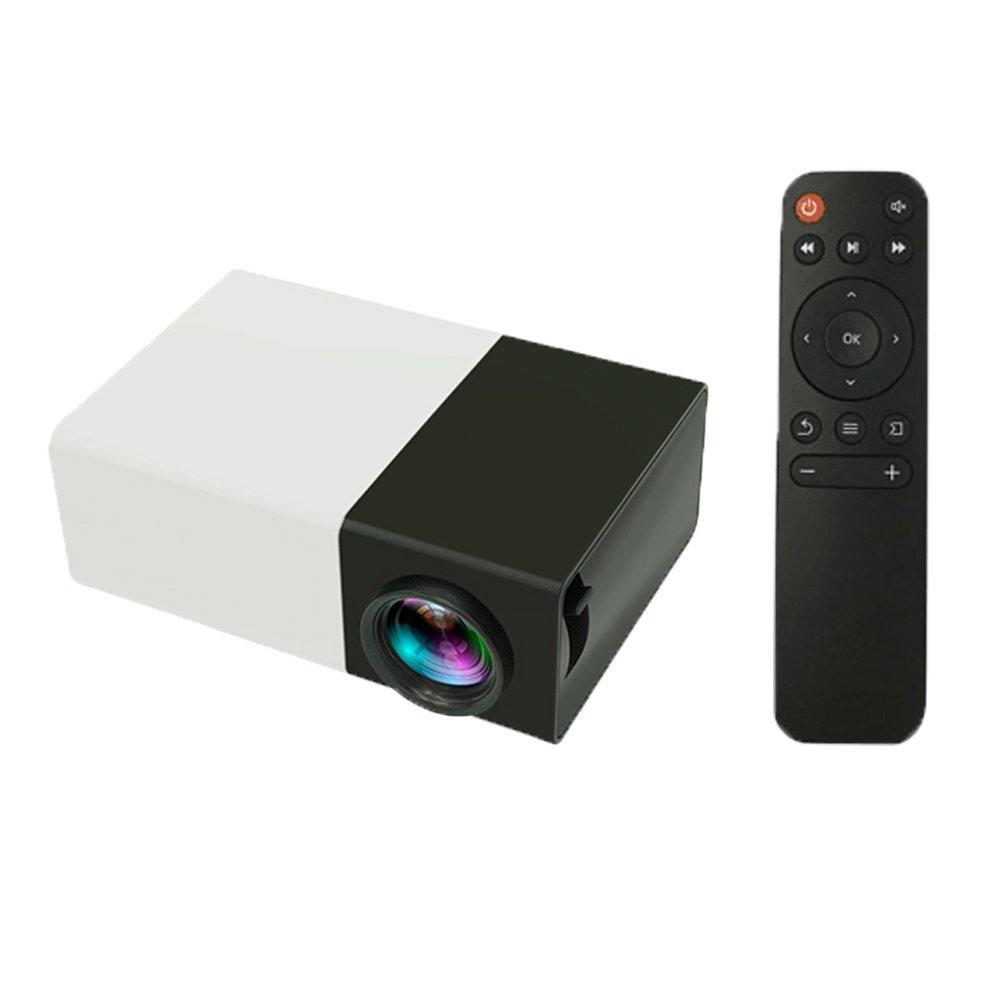 Docooler Home Proyector LED Mini Proyector portátil Miniatura ...