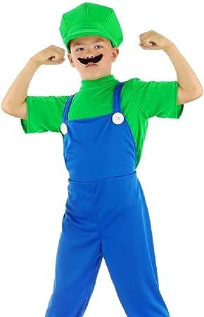 Folat - Disfraz Infantil de Luigi (Talla M), Color Verde: Amazon ...